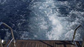 Egypte een mening van het schip stock video