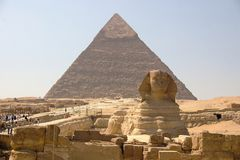 Egypte - Giza stock foto's