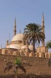 Egypte Kaïro Muhammad Ali Mosque Royalty-vrije Stock Afbeeldingen