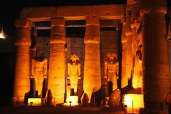 Egypte-Luxor Photo stock