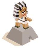 Egypte ramses Royalty-vrije Stock Foto