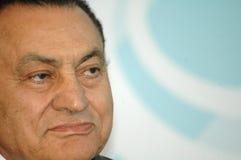 Egypte voorzitter Hosni Mubarak Royalty-vrije Stock Fotografie
