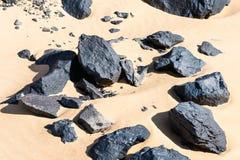Egypte Woestijn stock afbeelding