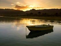 Egypte - zonsondergang Stock Foto's