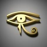 Egypten öga royaltyfri illustrationer