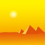 Egypten vektor illustrationer