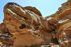 Egypten bergen av Sinaien deserterar Fotografering för Bildbyråer