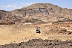 Egypten bergen av Sinaien deserterar Royaltyfri Foto