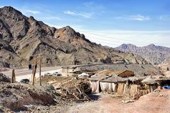 Egypten bergen av Sinaien deserterar Royaltyfri Bild