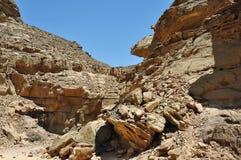 Egypten bergen av Sinaien deserterar Arkivfoton