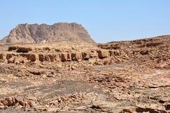 Egypten bergen av Sinaien deserterar Arkivbild
