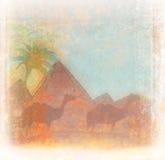 Egypten design vektor illustrationer