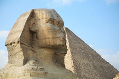 Egypten Giza, pyramider arkivfoto