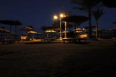 Egypten natt Arkivfoton