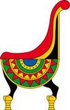 Egypten pharaohs biskopsstol Royaltyfri Bild