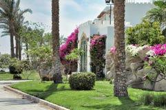 Egypten semesterortområde av Sharm el Sheikh Arkivfoto