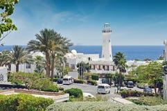Egypten semesterortområde av Sharm el Sheikh Arkivbilder