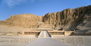Egypten tempel royaltyfria bilder