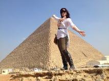 Egypten turism royaltyfri bild