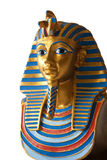 The Egyptian. Miniature egyptian pharao statue close up Royalty Free Stock Photos