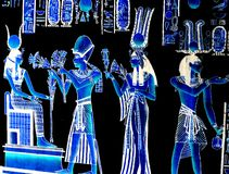 Egyptian. Abstract Egyptian background with ancient symbols royalty free stock image