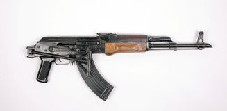 Egyptian AK47 Automatic Rifle KALASHNIKOV Stock Image
