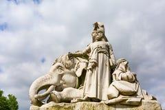 Egyptian Albert Memorial in London, UK Stock Images