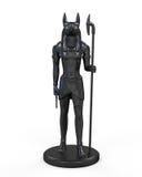 Egyptian Anubis Statue Royalty Free Stock Photo