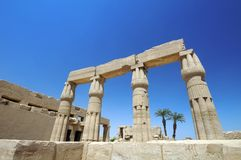 Egyptian Architecture Stock Image