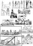 Egyptian art Royalty Free Stock Photos