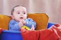 Egyptian baby girl Stock Image