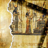 Egyptian background Stock Photo