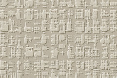 Egyptian background. Abstract hieroglyph style background canvas style Stock Photos