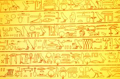 Egyptian background. Abstract background with Egyptian hieroglyphs Royalty Free Illustration