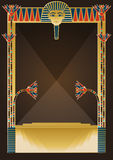 Egyptian Background and Design Elements Royalty Free Stock Image