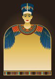 Egyptian Background and Design Elements Stock Photography