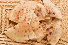Egyptian baladi bread Royalty Free Stock Photography