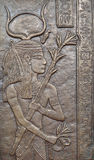 Egyptian bas relief. Royalty Free Stock Images