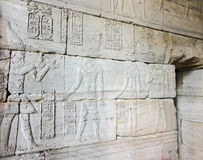 Egyptian bas relief Stock Photography