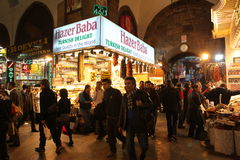 Egyptian Bazaar in Istanbul Royalty Free Stock Photos