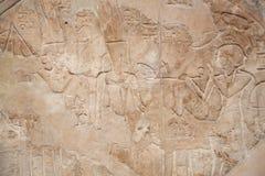 Egyptian Brick Wall Royalty Free Stock Photography