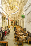 Egyptian Cafe In Bucharest Stock Photo