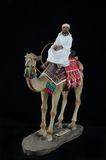 Egyptian camel rider Royalty Free Stock Photos