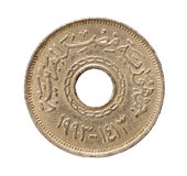 Egyptian Coin Royalty Free Stock Photos