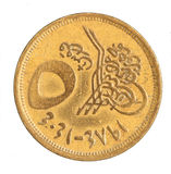 Egyptian Coin Stock Photography
