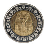 Egyptian coins Stock Image