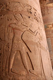 Egyptian Column Royalty Free Stock Images