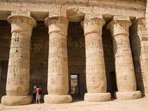 Egyptian columns Stock Photo