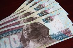 Egyptian Currency Royalty Free Stock Photography