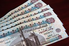 Egyptian Currency Stock Image